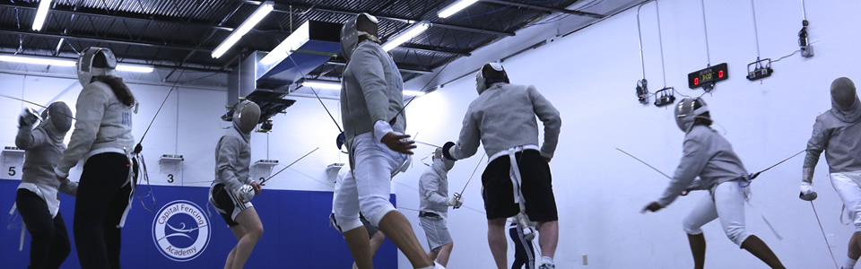 Fencing Lessons: Introduction to the Olympic sport of Sabre Fencing on Sunday, September 29, 2019 at 12:00 PM