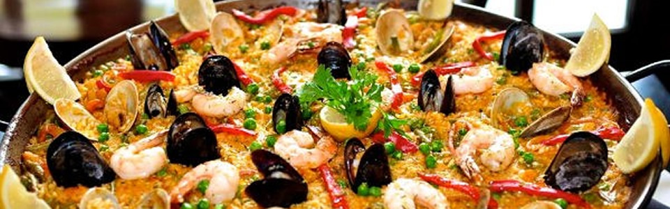 Spanish Paella Cooking Class at La Tasca with Paella Dinner, Tapas, Sangria, Dessert and Coffee on Wednesday, March 14, 2018 at 7:00 PM